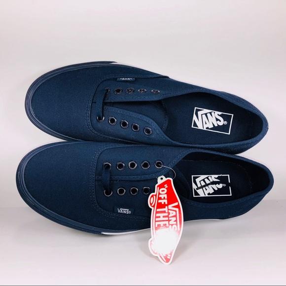 f32e0d1314 Vans Authentic Mono Bumper Dress Blues Sneakers. NWT